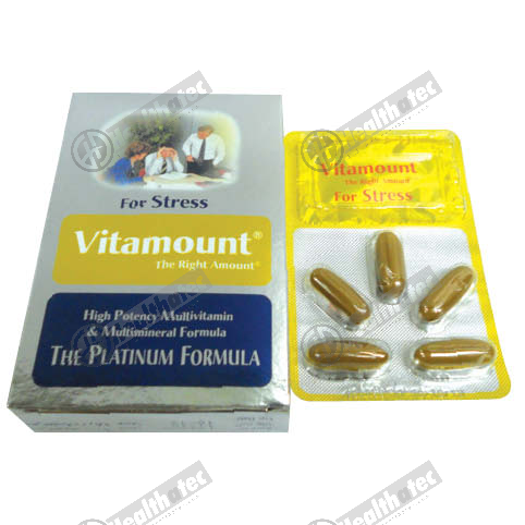 vitamount for stress 10c 2st. cap(eg)