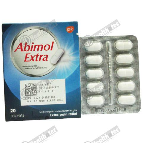 abimol extra 20t 2st. tab(eg)