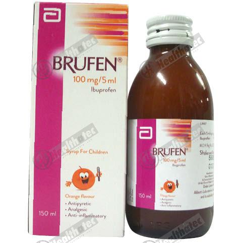 brufen 100mg/5ml 150ml syrup(eg)