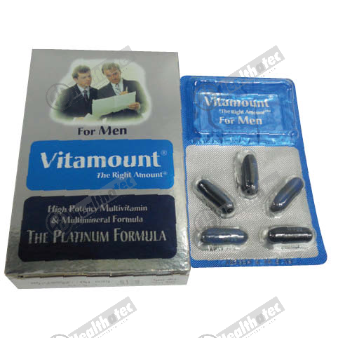 vitamount for men 10c 2st. cap(eg)
