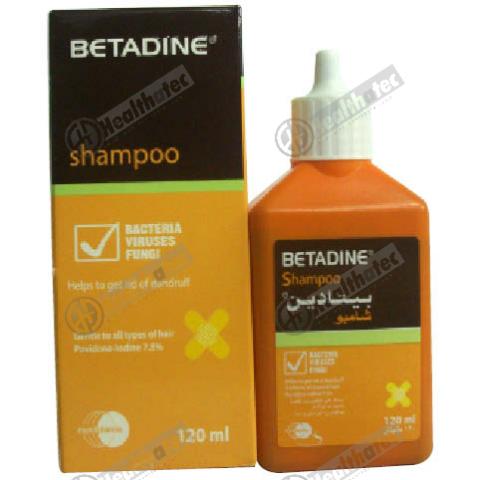 betadine 7.5% 120ml shampoo(eg)