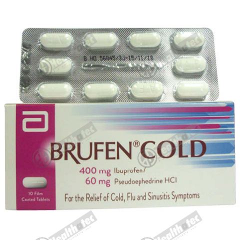 brufen cold 10t 1st. tab(eg)
