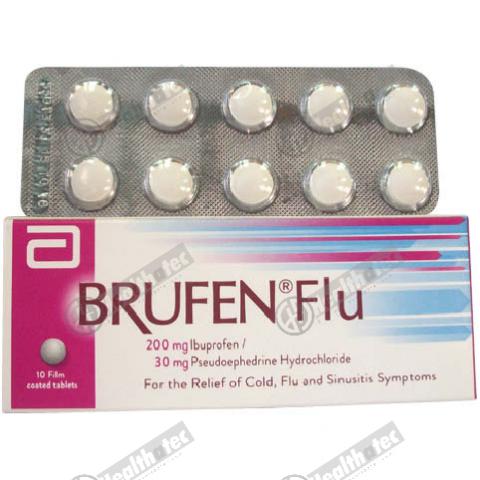 brufen flu 10t 1st. tab(eg)