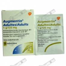 augmentin 1gm/125mg adults 12s sachets(eg)