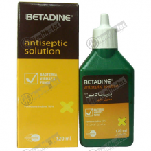 betadine antiseptic 10% 120ml soln(eg)